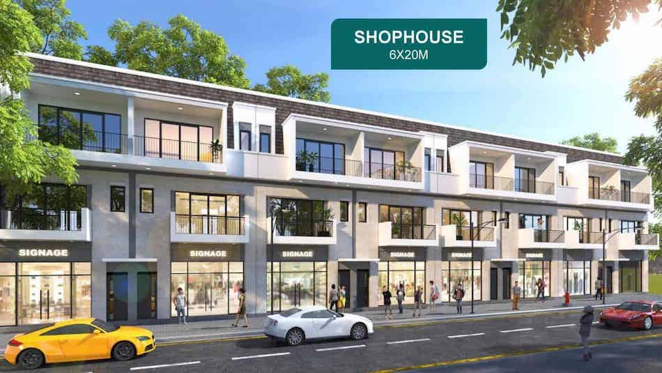 Shophouse Aqua city